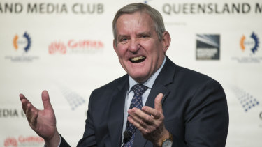 """QRC boss Ian Macfarlane said activists were not """"the problem"""" for Queensland's resources industry."""