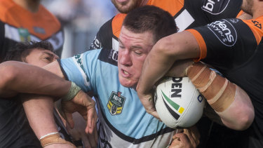 Paul Gallen is one NRL star owed unpaid fees from the collapsed start-up.