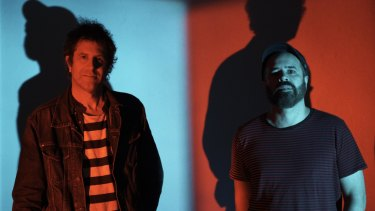 Founding Swervedriver members Jimmy Hartridge and Adam Franklin brought the 90s nostalgia to Perth on Sunday night.