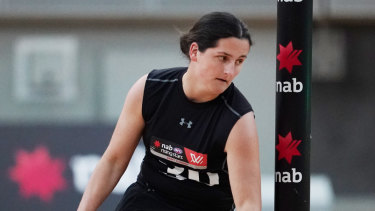 Lucy McEvoy was picked up by the Blues.