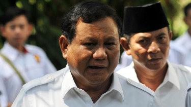 Prabowo Subianto Prabowo Subianto at his home in Hambalang, West Java, last year.