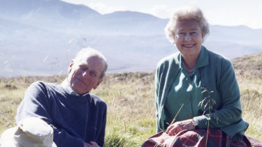 The Queen and Prince Philip in 2003.