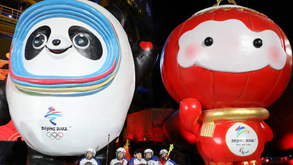 China's shadows cannot stay out of the Olympics torchlight