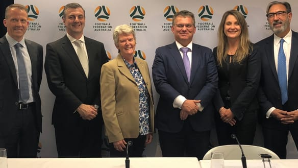 Peacekeeper takes charge as Lowy fires parting shot