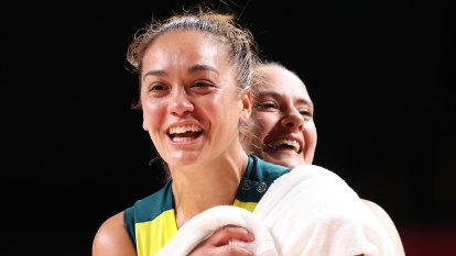 Opals leave it late but get big win to make Olympic quarter-finals, will face USA