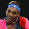 Williams makes short work of Halep to put a shot across the bows