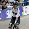 Australian world record and gold rush at track cycling world titles
