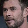 Hemsworth's surprise cameo at Tourism Australia launch