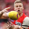 Hannebery joins St Kilda on a five-year deal