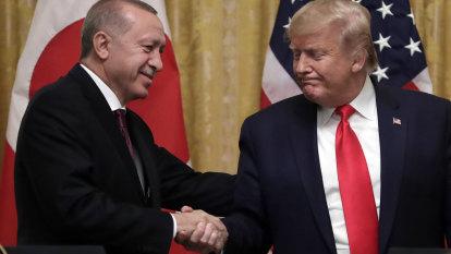 Trump says he's a 'big fan' of Turkish President Recep Tayyip Erdogan