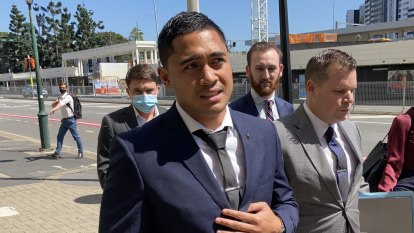 NRL star Anthony Milford to fight 'some' charges after arrest in Brisbane