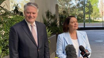 Cormann joins chorus of condemnation over McGowan's hard border excuses