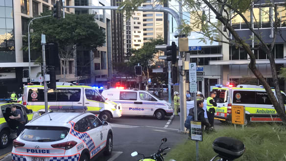 Woman killed after being hit by bus in Brisbane CBD