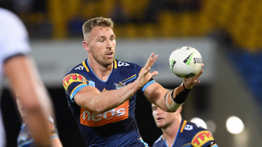 Bryce Cartwright has shone in the Titans' defence.