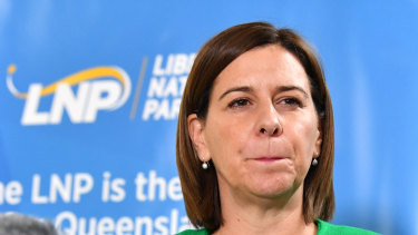 Opposition Leader Deb Frecklington faced a swift backlash from colleagues of Premier Annastacia Palaszczuk after an interview in which she took aim at her image.