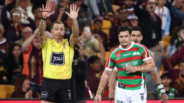 James Roberts has struggled to recapture his best form since returning to South Sydney from the Brisbane Broncos.
