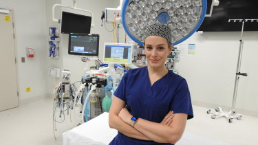 Dr Nikki Stamp is operating on patients who declined to take lifesaving medicines.
