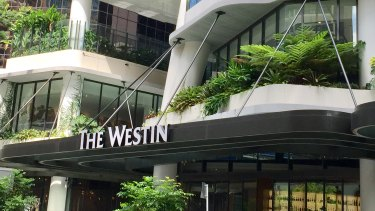The five-star Westin Brisbane hotel has revealed some of its guests have been quarantined over coronavirus fears.