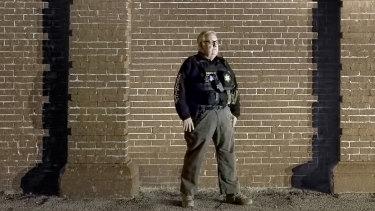 Howard G. Buffett in his sheriff's uniform.