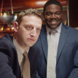 Tim and Sam (Tim Robinson and Sam Richardson) play erratic young ad men in Detroiters.