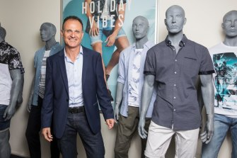 Retail Apparel Group chief Gary Novis.