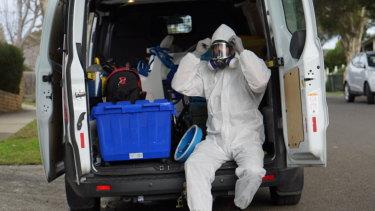 Josh Marsden deals with methamphetamine and precursor chemical contamination.