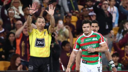 'Wasn't much in it': Souths accept Roberts' two-match ban for elbow