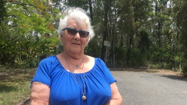Greenslopes Jean Kruck says she has lived with Stephens Mountain as her backyard for 73 years.