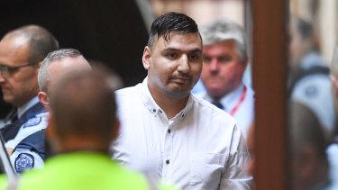 James Gargasoulas arriving at court last week.