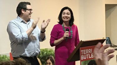 Terri Butler in Griffith.