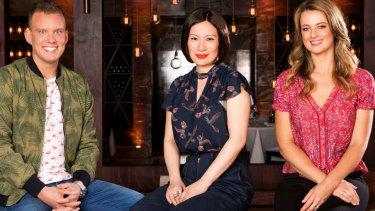 MasterChef season 11 mentors Matt Sinclair, Poh Ling Yeow and Billie McKay.