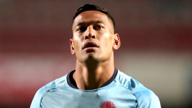 Eye of the storm: Rugby Australia has sacked Israel Folau following more controversial comments on social media.