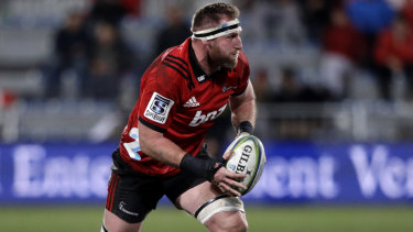 Winning ways: Kieran Read is one of 10 Crusaders to be named in the All Blacks squad after thei Super Rugby triumph.