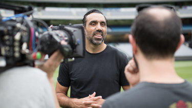 Adam Goodes will appear in a second documentary about his career and race relations titled The Australian Dream.