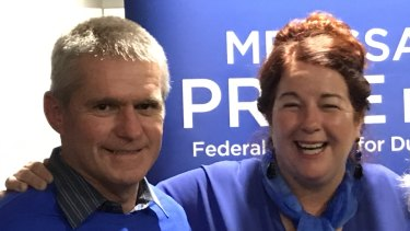 Ian Blayney and Federal Liberal Member for Durak Melissa Price earlier this year.