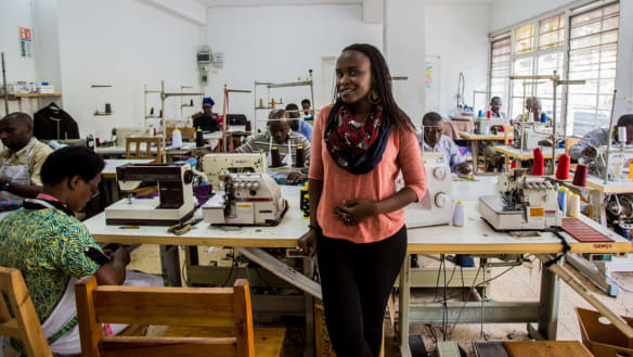Stitch in time: Rwanda's designers create a bright future