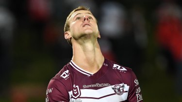 Daly Cherry-Evans had a night to forget as the Sea Eagles crashed to a 30-point loss to St George Illawarra.