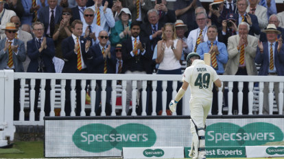Just not cricket: MCC member kicked out over Smith abuse