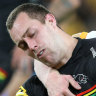 Cleary fuming as Flegler avoids send-off for high tackle on Yeo