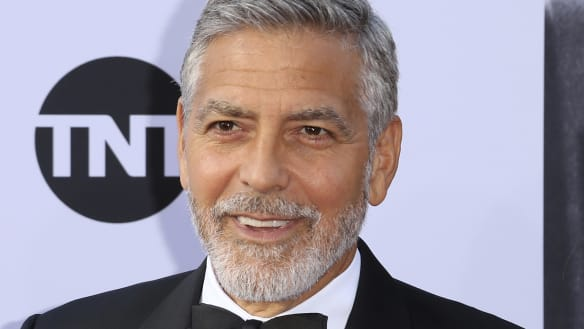 George Clooney 'is recovering' after motorcycle crash in Italy