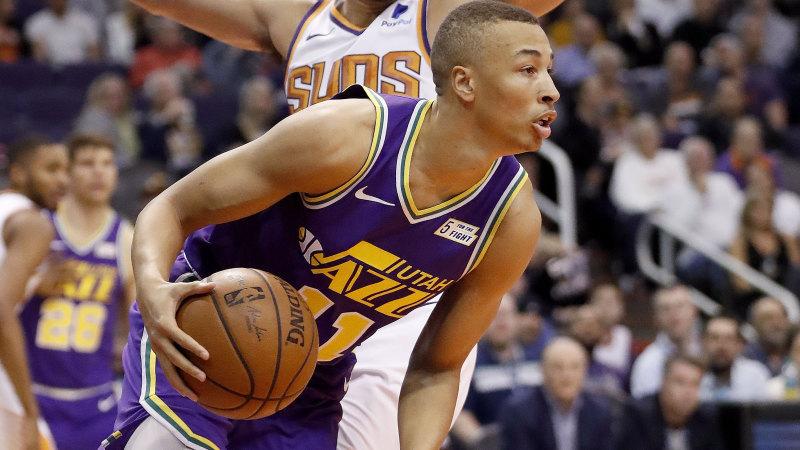 Basketball Utah Jazz Guard Dante Exum To Put Hand Up For