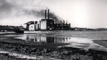 White Bay Power Station the last century.