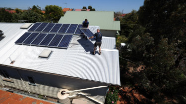 Solar panels can reduce your dependency on energy companies.
