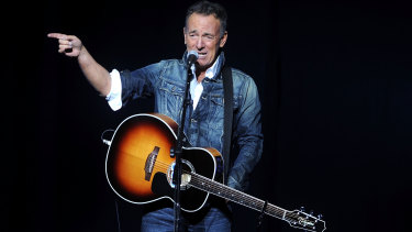 Bruce Springsteen has returned to the Broadway stage, signifying a return to pre-pandemic normality in the United States.