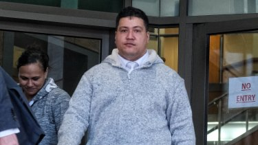 Hayden Tarawa pleaded guilty on Tuesday to stealing copper from the rail project.