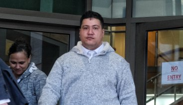 Hayden Tarawa pleaded guilty to stealing copper from the rail project.