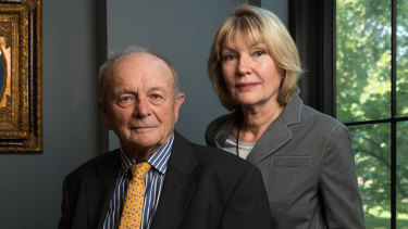 Chairman Gerry Harvey and wife, chief executive Katie Page, lost the battle but won the war at the AGM on Wednesday.