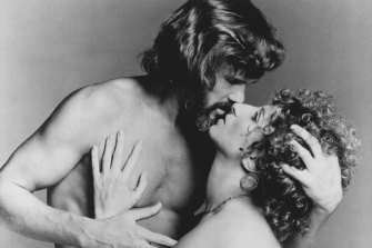 Kristofferson and Barbra Streisand starred in the movie A Star Is Born in 1976.