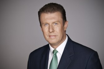 Peter Overton remains one of the most popular newsreader in the country.