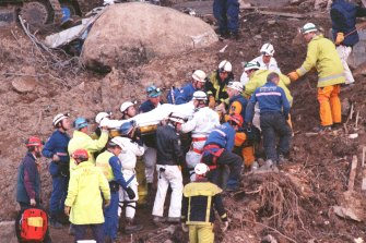 Pat Jones was the ACT's chief firefighter when he responded to the 1997 Thredbo landslide.